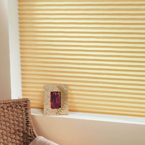 Get beautiful pleated blinds from The Blind Shop in Canberra in a range of eye-catching colours