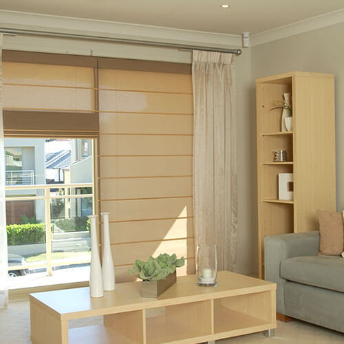 Roman Blinds from The Blind Shop in Canberra