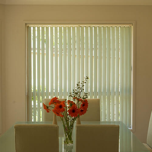 Vertical Blinds from The Blind Shop in Canberra